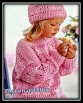 pulover dlya devochki spicami foto shema i opisanie (1)