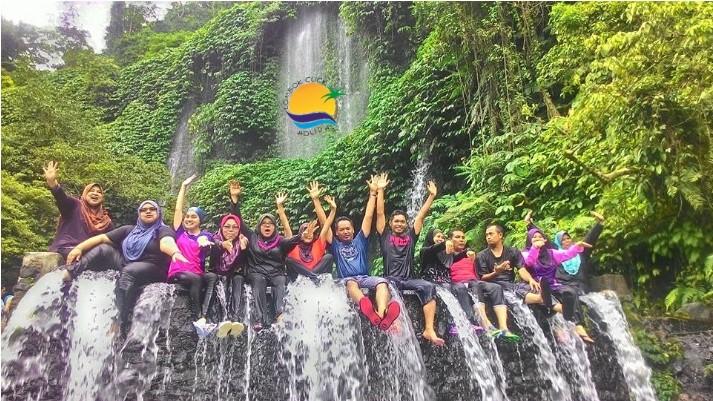Air Terjun Kelambu Lombok