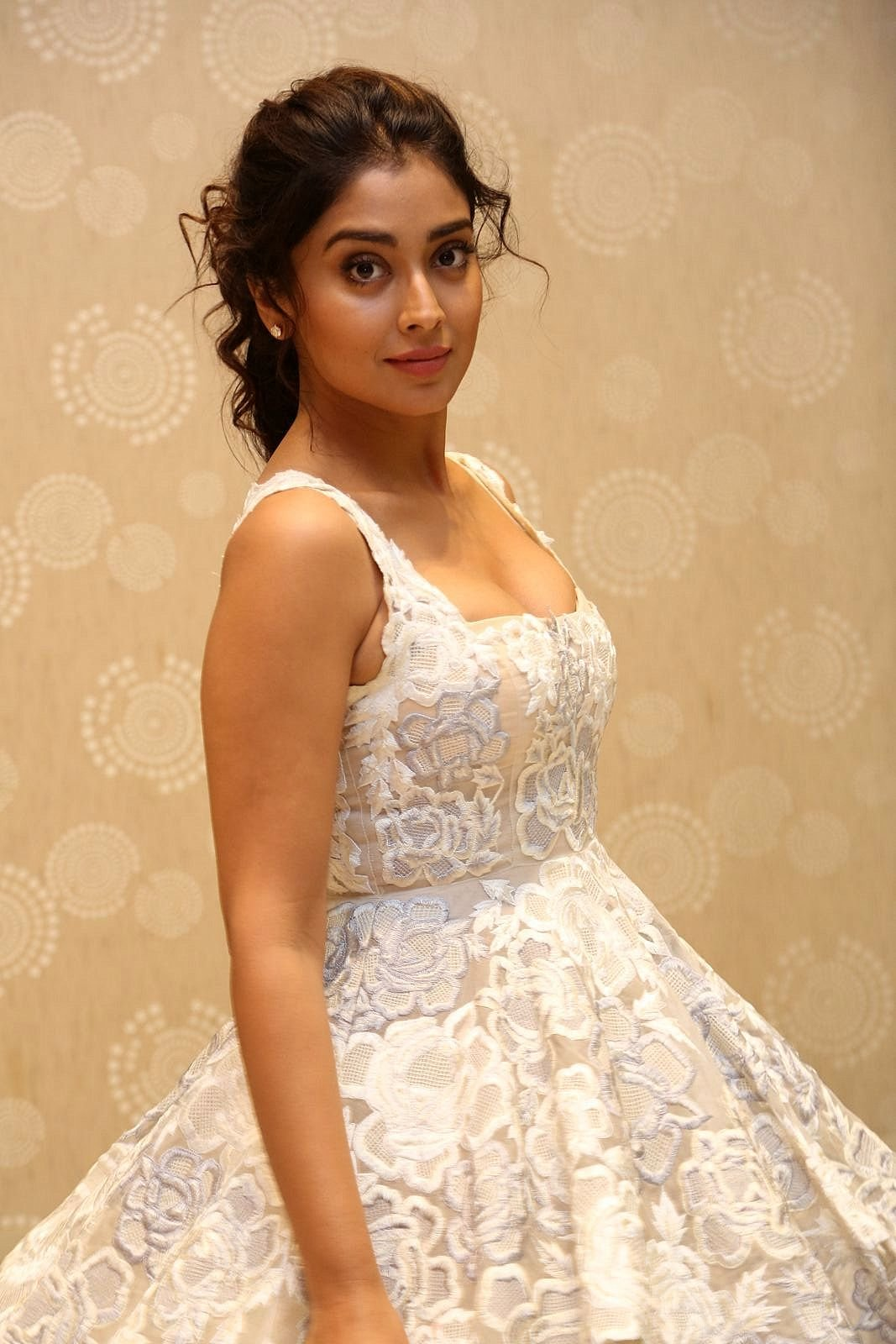 Shriya Sharan in Gorgeous Sleeveless Glittering short dress at Paisa Vasool audio success meet ~ CelebsNext Exclusive Celebrities Galleries