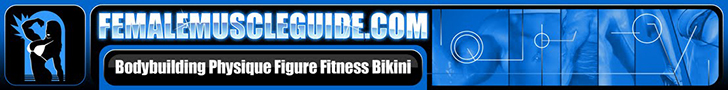 Female Muscle Guide 728 x 90 Banner Ad