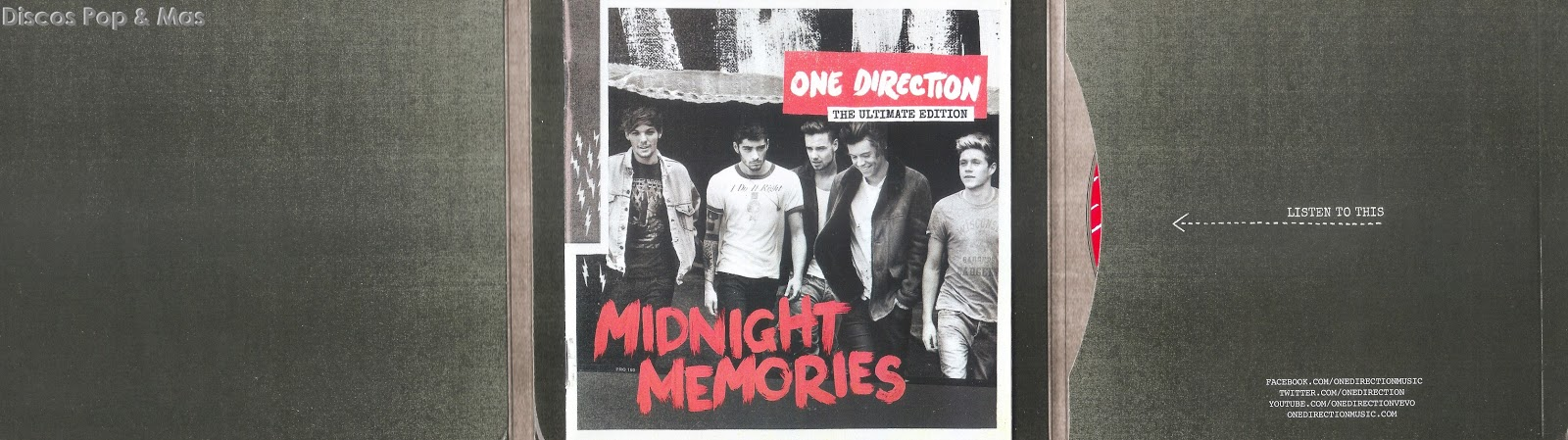 Discos Pop & Mas: One Direction - Midnight Memories: The ...