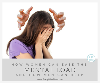 How Women Can Ease the Mental Load They Carry (and how men can help) |  Motherhood | #mentalload