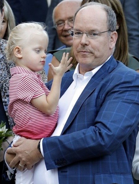 Prince Albert, Princess Charlene and their twins Crown Prince Jacques and Princess Gabriella at the traditional Monaco's picnic