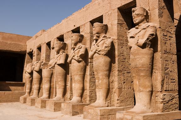 Karnak foi um dos grandes locais cerimoniais do Antigo Egipto