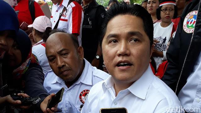 Erick Thohir Lepas Saham Inter Milan, Uangnya Buat Kampanye Jokowi?
