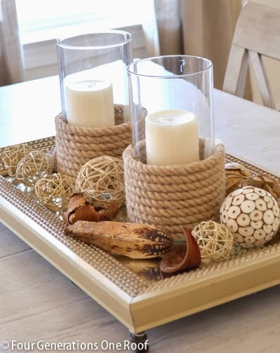 15 Coastal Beach Candles Amp Candle Holder Decor Ideas