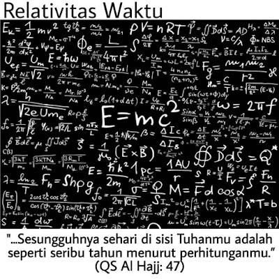 Teori Relativitas Waktu Dalam Perspektif Islam dan Alquran