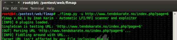 scanning for lfi/rfi