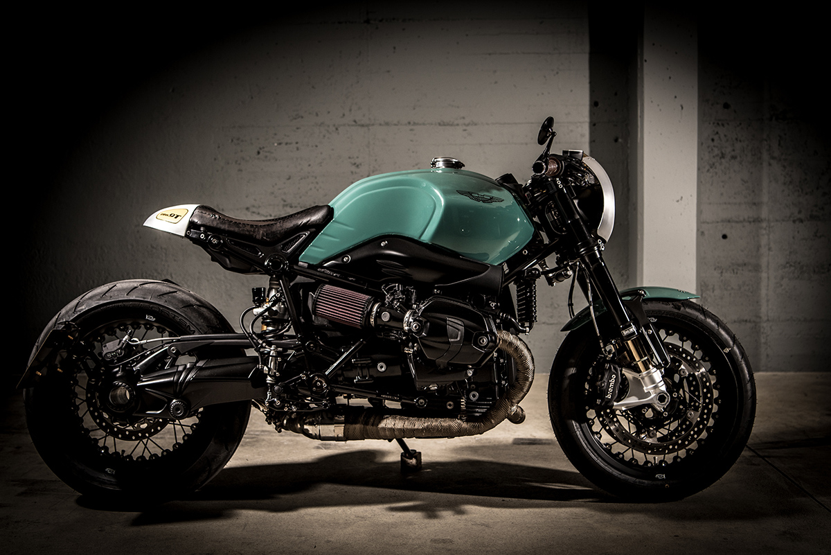 Green Scot VTR Customs DBR9T Return of the Cafe Racers