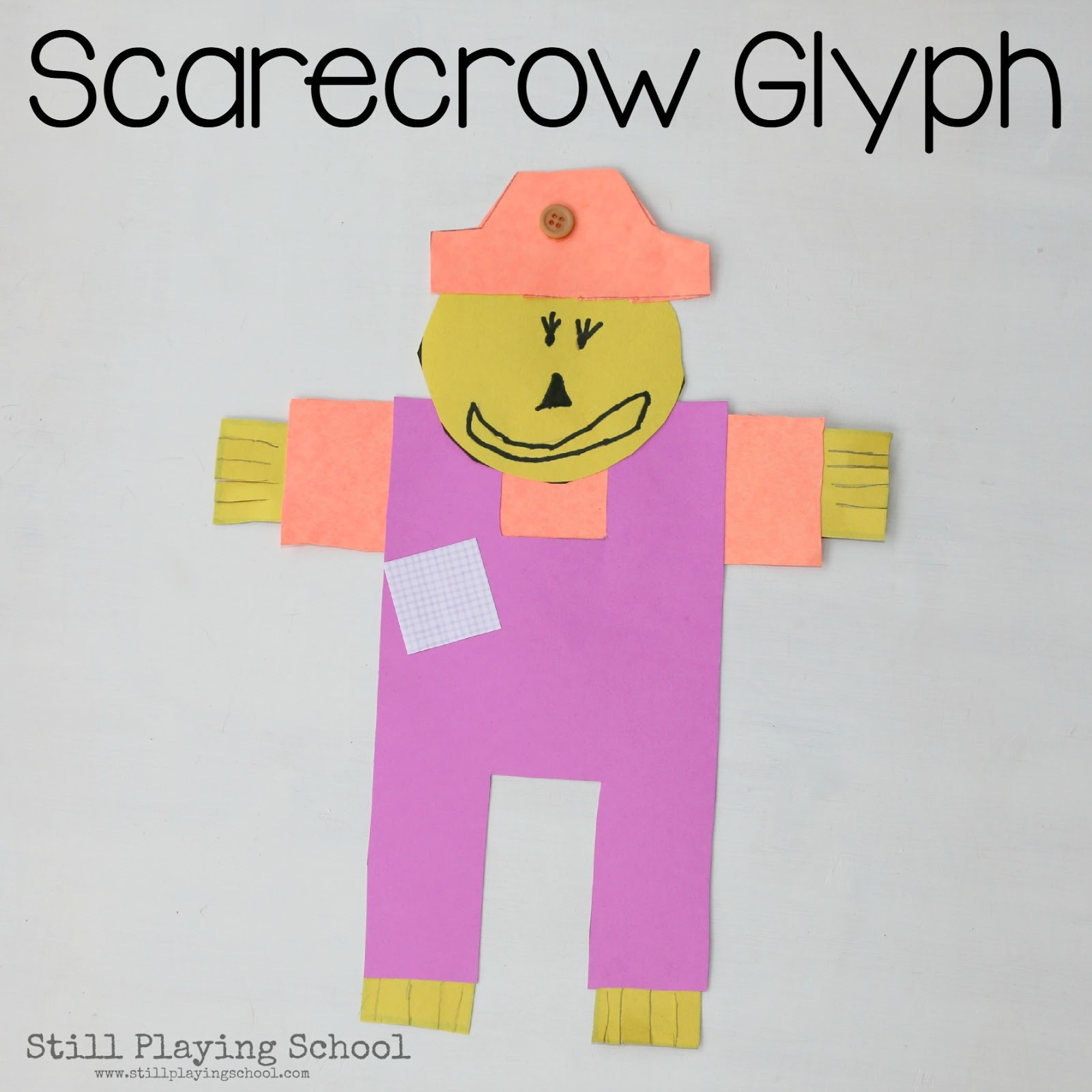 Scarecrow Writing Paper Scarecrow Writing Paper For Kids