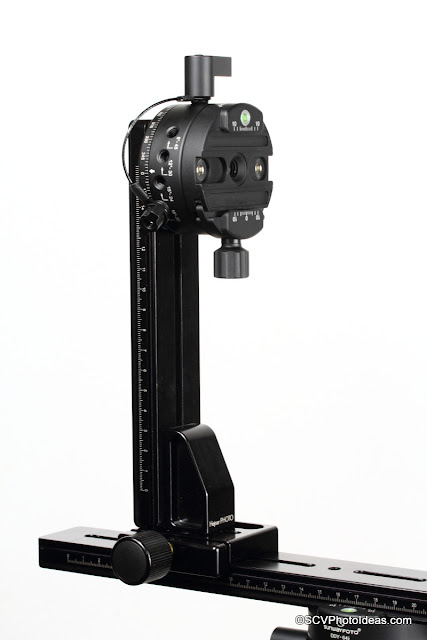 Vertical Arm with vertical rotator mounted on Horizontal Rail