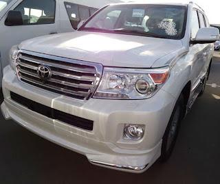 سيارة, الدفع الرباعي, Toyota Land Cruiser Vxr, toyota, landcruiser