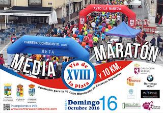 media maraton de La Bañeza