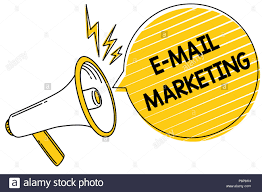 altavoz diciendo e-mail marketing