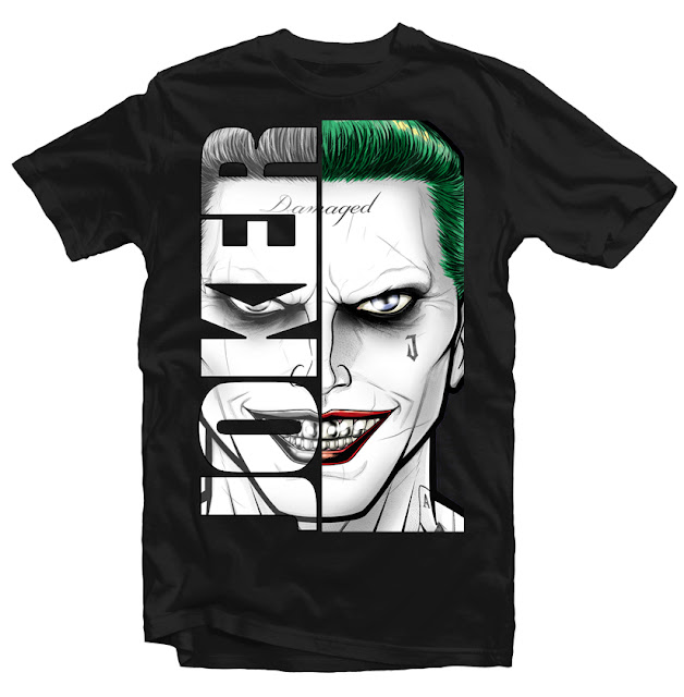 joker jared leto tshirt design