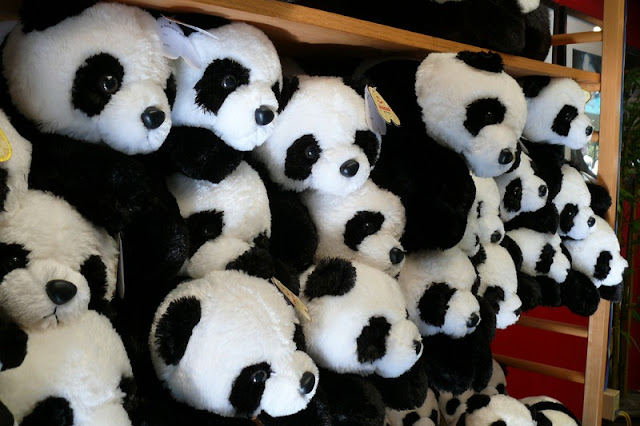 Cute Panda Doll Souvenir