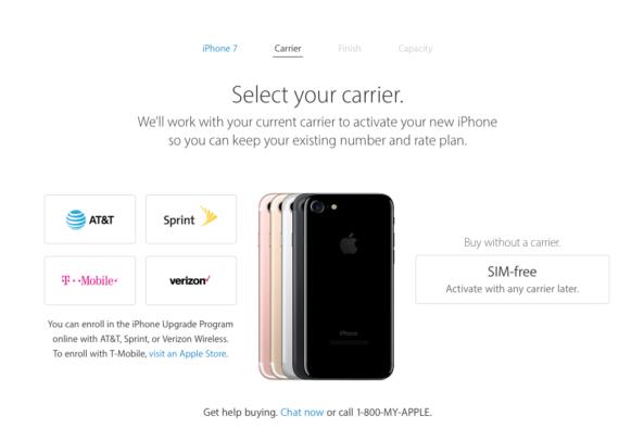 iphone site USA
