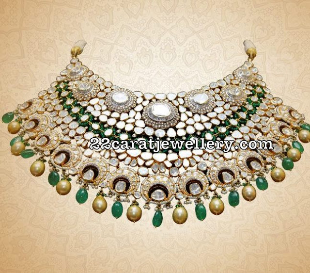 Pachi Work Choker by Vaibhav Jewellers