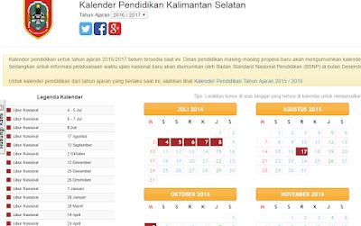 Cara Mencari Kalender Pendidikan Secara Online Seluruh Indonesia
