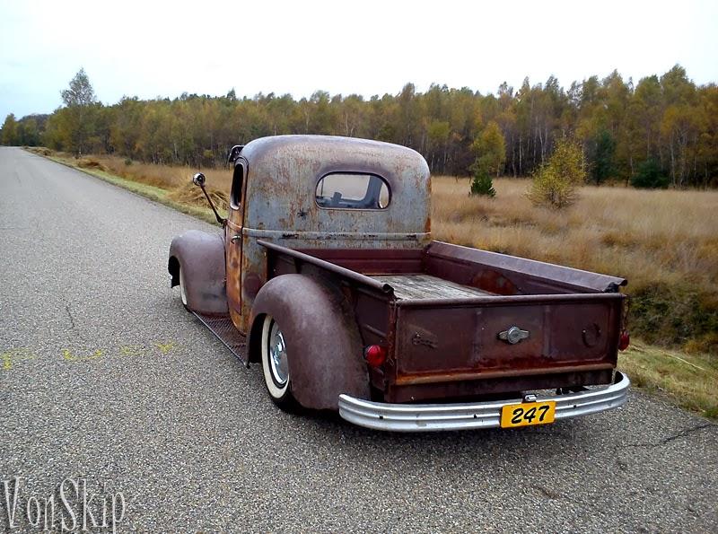 "RodCityGarage: 1941 ""Rat Rod"" Pick Up Truck"
