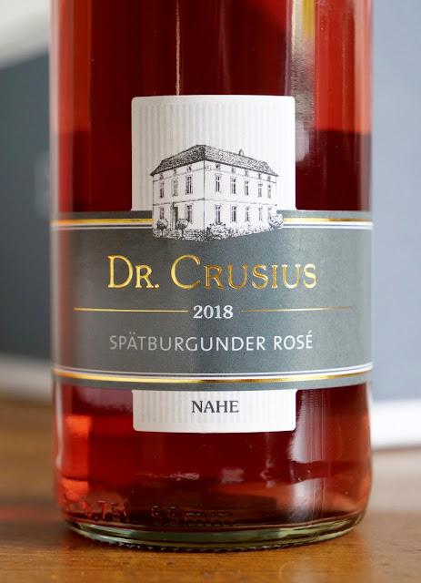 Spätburgunder Rose vom Weingut Dr. Crusius in Traisen an der Nahe.