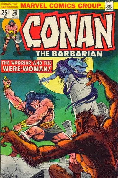Conan the Barbarian #38, Were-Woman