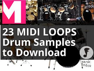 midi drum loops free download pack