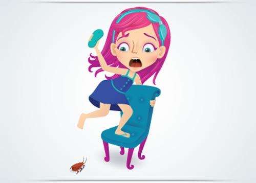 فوبيا الصراصير أو الخوف من الصرصور