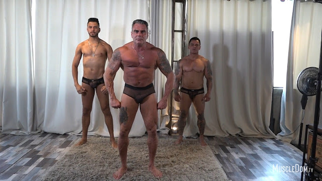 MuscleDom - Threesome