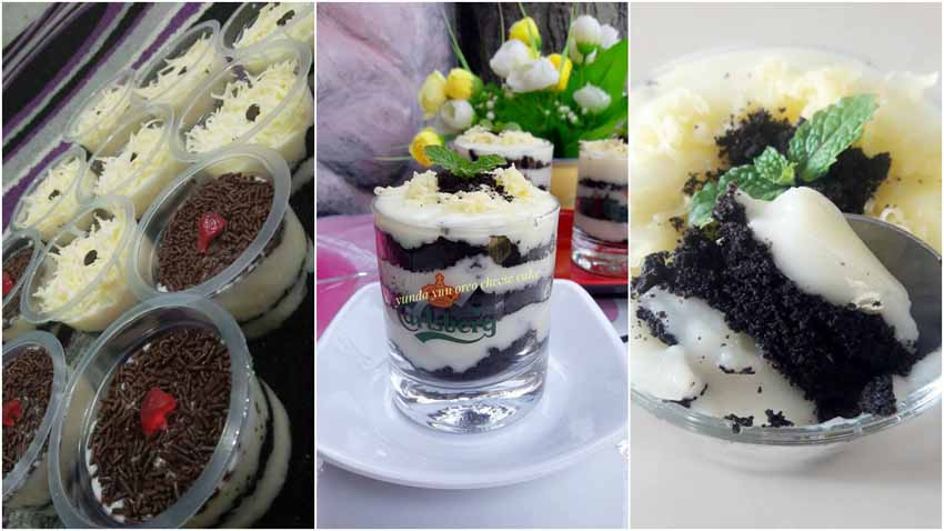 Resep Membuat Oreo Cheese Cake