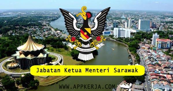 Jawatan Kosong Kerajaan Di Jabatan Ketua Menteri Sarawak 24 Jun 2018 Appjawatan Malaysia