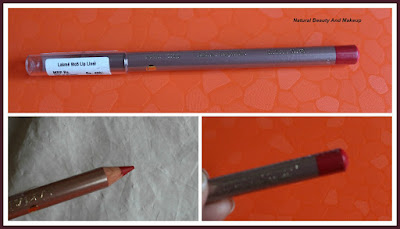 Lakme Lip liner red alert featured on Natural Beauty And Makeup blog