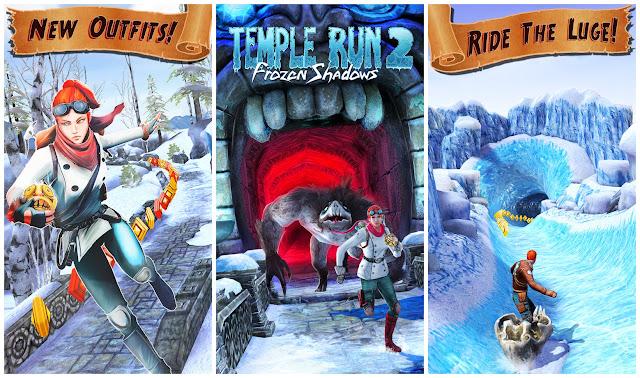 Temple Run 2 Frozen Shadows v1.19.2 [Unlimited Gold+Gems] MOD Apk [Latest]