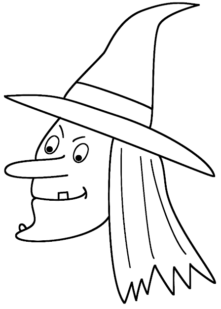 Witch Face Coloring Page Halloween Throughout Brilliant Pumpkin Coloring  Sheets Printable