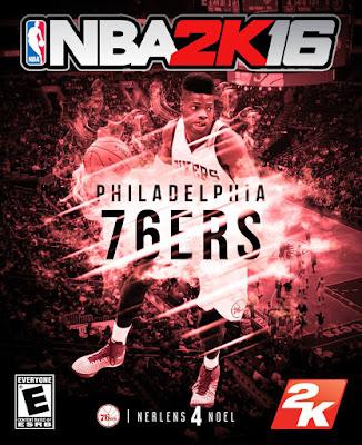 NBA 2K16 Custom Covers - Philadelphia 76ers