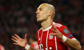 """Robben: """"We learned from the Barcelona mistake"""""""