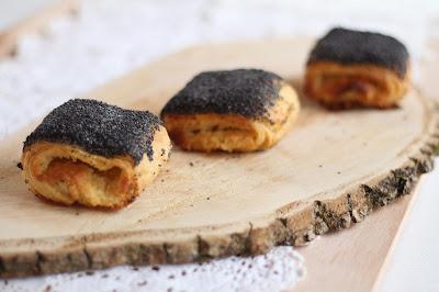 Tebirkes - Dänische Plunderteilchen mit Mohn und Marzipanfüllung: Wienerbrød selbst gemacht