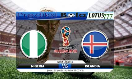 PREDIKSI SKORE NIGERIA VS ISLANDIA 22 JUNI 2018