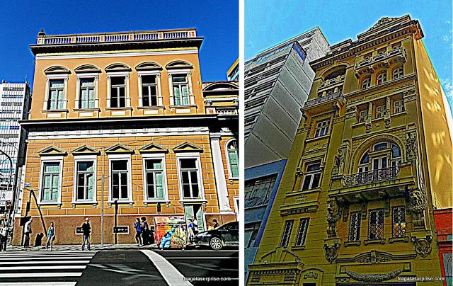 Porto Alegre: Prefeitura Velha e Centro Cultural Érico Veríssimo, na Rua da Praia