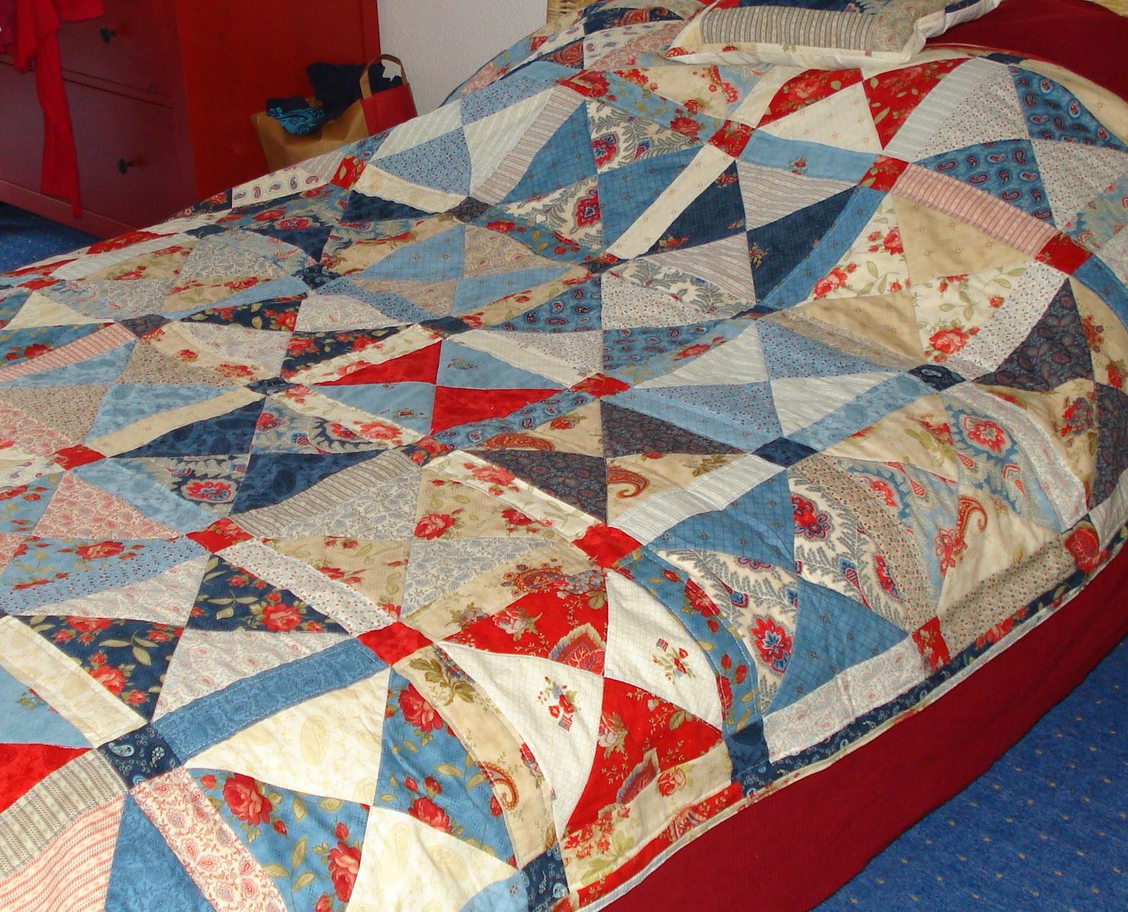 patchwork und quilten februar 2011. Black Bedroom Furniture Sets. Home Design Ideas