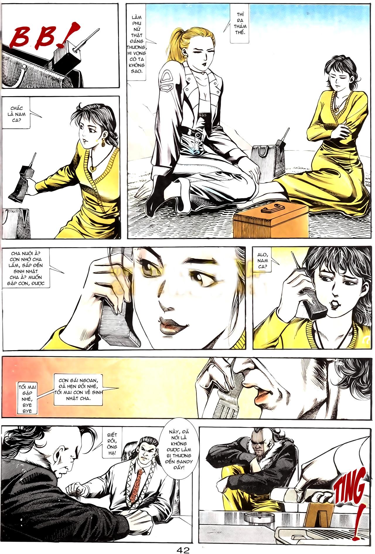 Người Trong Giang Hồ chapter 167: tội sống khó tha trang 30
