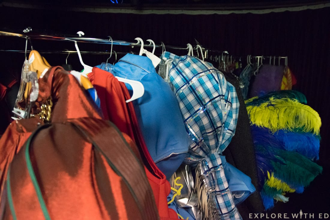 Norwegian Epic Behind the scenes, Priscilla costumes