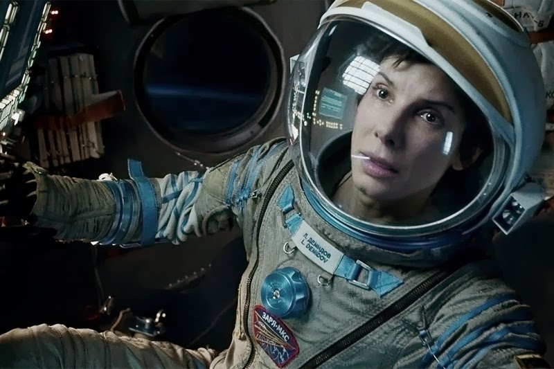 Sandra Bullock dans Gravity de Alfonso Cuaron