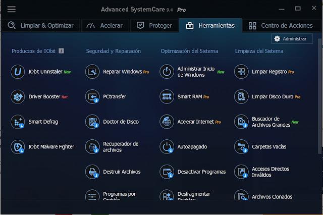 Advanced SystemCare PRO Versión 9.4 Español