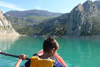 Congost del Mont Rebei en Kayak.
