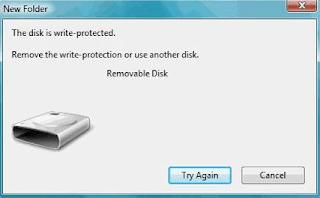 Cara Cepat Mengatasi Flashdisk Write Protect