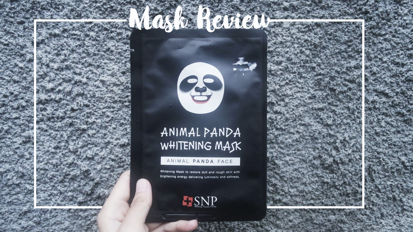 Review Snp Animal Panda Whitening Mask Windars Masker Face Hello Guys I Am Back Today With A New Of That Ive Purchased Awhile Ago Entah Kenapa Akhir Ini Jadi Addict
