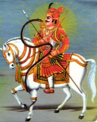 Hindu God tejaji pic