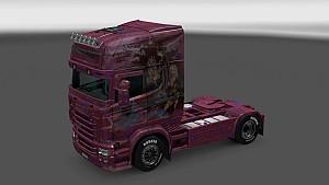 Sweet Girl paint job for Scania RJL