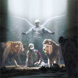 Dios envió a su ángel